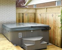 Fortier Deck & Hot Tub